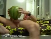 hot boy fuck watermelon