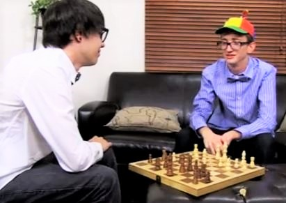 Geeky twinks play chess and then fuck each other raw