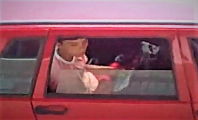Teen 18 Caught on Car